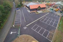 Car park constructed and surfaced - Sibbons