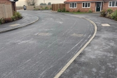 New road surfaced and footpath at Jaywick Lane